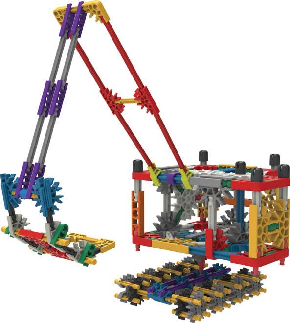 Micro Knex Excavator